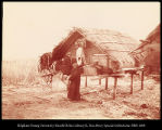 "Siberia.  Storehouse in a Tungu Village.""(Sup-chee-kee) #1132"