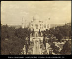 Taj Mahal.  Agra.  Print of original film, #528