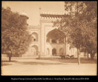 India.  Agra.  Entrance gateway, Taj Mahal. #526