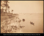 India.  Junction of the Ganges and the Brama Putra [sic. Brahmaputra]. Fishing fleet. #579