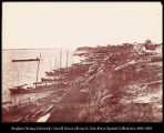 River front of Khabarovsk - showing Chinese settlement. #1093
