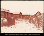 Post station of Swerbeva.  Types of station on Amur Frontier.  #1187