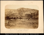 070 Salt Lake Valley, mouth of Echo Canyon, ca. 1860's