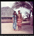 A Couple in Samoan Attire, Nick Levy and Tapusoa