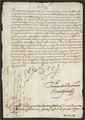 1592-07-08 letter to Diego de Orellana de Chaves