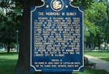 Quincy Historic Marker
