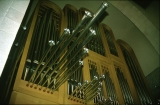 Jerusalem Center Organ Pipes