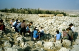 Jerusalem Center Students Studying Book of Amos at Ancient Tekoa