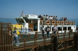 Jerusalem Center Students on Boat to Cross Sea of Galilee
