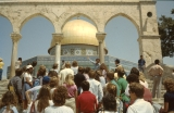Jerusalem Center Students at Dome of the Rock, Jerusalem