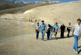 Jerusalem Center Students Hiking Through Judean Desert