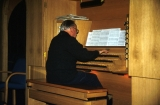 Jerusalem Center--Robert Cundick at the Organ