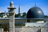 Temple Mount--Mosque Dome and Tower of Ascension