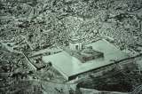 Old Photograph of the Old City and Temple Mount with Islamic Structures Removed and Ancient...