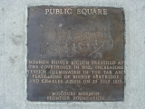 Independence Public Square Plaque