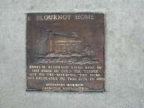 Jones H. Flournoy Home Plaque