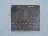 Independence Jail Plaque
