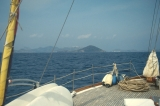 Approaching Island of Patmos