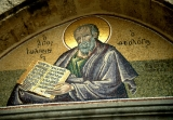 "Mosaic Painting of Saint John ""The Theologian"""