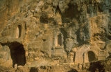 Niches at Temple of Pan at Caesarea Philippi