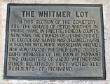 Jacob Whitmer Gravesite