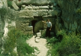Khirbet Midras - Example of Jesus' Burial Tomb