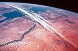 Satellite Photograph Showing Upper Egypt and the Red Sea