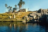 Aswan Elephantine Island in the Nile