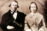 Brigham Young and Wife