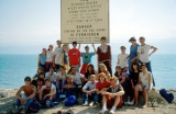 On Lehi Trek: BYU Students at Dead Sea