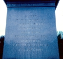 Close-up of Inscription on Joseph Smith Monument