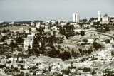 Mount Zion from Mount of Olives