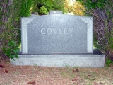 Cowley family marker