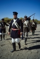 Reenactment of Mormon Battalion march through the desert