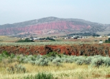 Red Buttes near Bessemer Bend, Wyoming