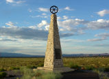 Mormon Battalion Trail monument, near Albuquerque, New Mexico