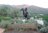 Pony Express Memorial Statue, Salt Lake City, Utah