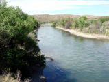 Mormon Battalion Trail, Rio Grande River near Elephant Butte, New Mexico