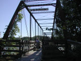 Bentonsport, Iowa foot bridge