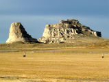 Courthouse Rock and Jail Rock, Nebraska