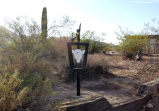Mormon Battalion Trail, near Painted Rock Historic Site , Maricopa County, Arizona