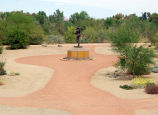 Mormon Battalion Trail monument, Yuma, Arizona