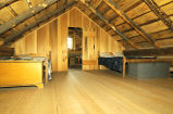 Smith Palmyra, New York log home interior