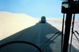 Driving Across Sands of Northern Sinai