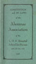 Constitution and By-Laws of the Alumnae Association of the L. D. S. Hospital School for Nurses,...