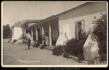 Outer Porch at Camulous Home of Ramona, Santa Clara Valley, Cal. C.R Savage, Salt Lake.