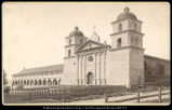 Old Mission, Santa Babara, Cal., C.R. Savage, Photo,  Salt Lake.