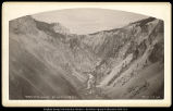 Canon of the Yellowstone from top of Lower Fall;  C.R. Savage, Salt Lake