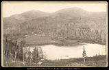 Silver Lake, Brighton's Cottonwood, Utah;  C.R. Savage, Photo.