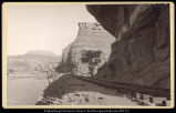 The Half Tunnel, Canon of the Grand River, R.G.W.Ry. (Rio Grande Western Railway), C.R. Savage,...
